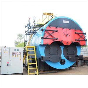 Twin-Furnace-wood fired Steam-Boiler