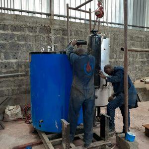Boiler Assembling kenya