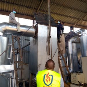 boiler incinerator serving